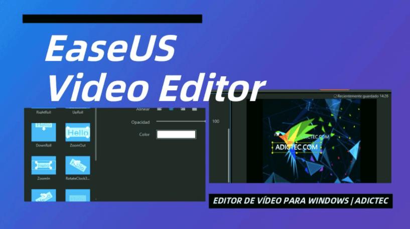 EaseUS Video Editor For Windows