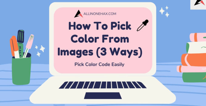 How To Pick Images Color Online