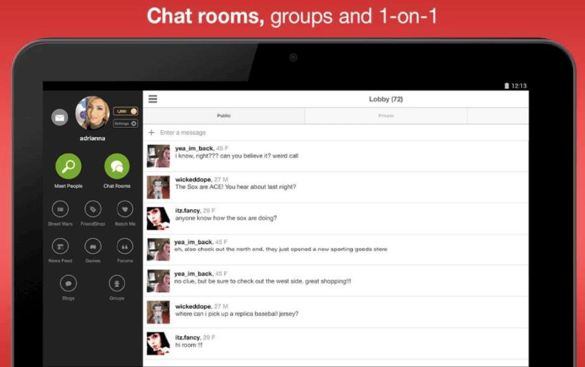 Moco - Best Stranger Chat App