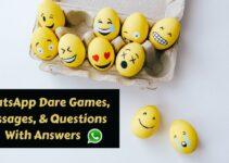 Dare Games For Whatsapp