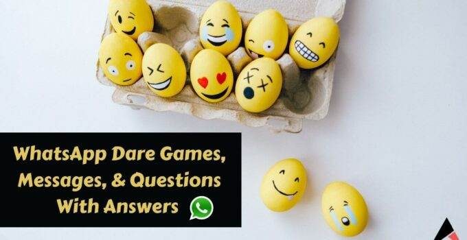 Dare Games For Whatsapp