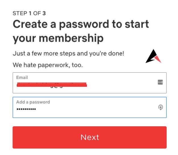 Create netflix Free Account